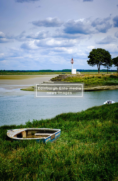 The mouth of the River Somme at Saint-Valery-sur-Somme, France<br /> <br /> (c) Andrew Wilson | Edinburgh Elite media
