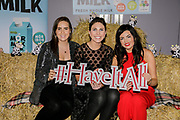 Leann Waters, Karen McGarty and Leanne McCafferty from Connacht Gold, at the Connacht Gold annual 'Have It All!' food, fashion and wellness event in the Galmont Hotel & Spa, Galway.<br /> Photo: James Connolly<br /> 29NOV18
