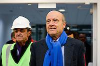 Alain Juppe - 23.03.2015 - Visite du Stade de Bordeaux -<br /> Photo : Caroline Blumberg / Icon Sport *** Local Caption ***