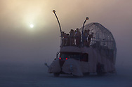 Thick dust at sunset. My Burning Man 2019 Photos:<br />