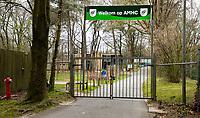 APELDOORN  - Ook  de hockeyvelden van de AMHC   zijn verboden terrein  ivm Coronavirus.   COPYRIGHT KOEN SUYK