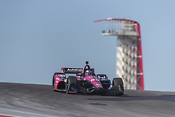 February 12, 2019 - Austin, Texas, U.S. - Jack Harvey (60) of England  goes through the turns during practice for the IndyCar Spring Test at Circuit Of The Americas in Austin, Texas. (Credit Image: © Walter G Arce Sr Asp Inc/ASP)