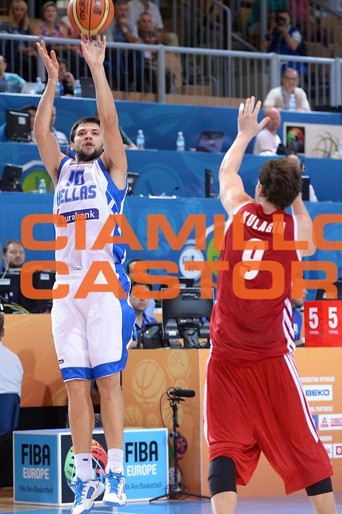 DESCRIZIONE : Capodistria Koper Slovenia Eurobasket Men 2013 Preliminary Round Russia Grecia Russia Greece<br /> GIOCATORE : Kostas Papanikolaou<br /> CATEGORIA : Tiro<br /> SQUADRA : Grecia<br /> EVENTO : Eurobasket Men 2013<br /> GARA : Russia Grecia Russia Greece<br /> DATA : 05/09/2013<br /> SPORT : Pallacanestro&nbsp;<br /> AUTORE : Agenzia Ciamillo-Castoria/Max.Ceretti<br /> Galleria : Eurobasket Men 2013 <br /> Fotonotizia : Capodistria Koper Slovenia Eurobasket Men 2013 Preliminary Round Russia Grecia Russia Greece<br /> Predefinita :