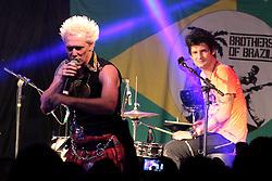 Brothers of Brasil no Camarote do Planeta Atlântida 2014/RS, que acontece nos dias 07 e 08 de fevereiro de 2014, na SABA, em Atlântida. FOTO: Itamar Aguiar/ Agência Preview