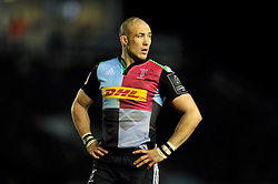 Mike Brown of Harlequins - Photo mandatory by-line: Patrick Khachfe/JMP - Mobile: 07966 386802 17/01/2015 - SPORT - RUGBY UNION - London - The Twickenham Stoop - Harlequins v Wasps - European Rugby Champions Cup