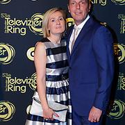 NLD/Amsterdam/20181011 - Televizier Gala 2018, Rob Geus en partner Suzanne Ozek