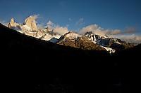 The Fitz Roy, Los Glaciares National Park