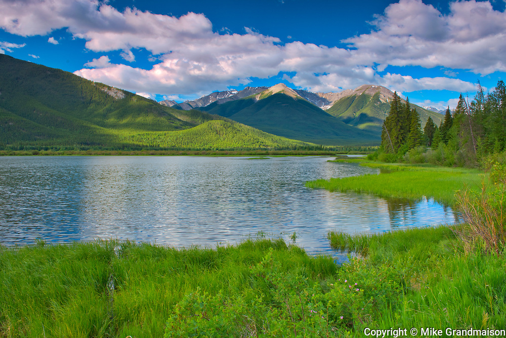 The Sundance Range and Vermillion Lakes<br />