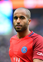 Lucas Moura of PSG during the Ligue 1 match between Paris Saint Germain (PSG) and SC Bastia at Parc des Princes on May 6, 2017 in Paris, France. (Photo by Dave Winter/Icon Sport)