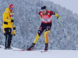 17.12.2011, Casino Arena, Seefeld, AUT, FIS Nordische Kombination, Langauf 10 km, im Bild Christian Beetz (GER) // Christian Beetz of Germany during the cross-country skiing 10 km at FIS Nordic Combined World Cup in Sefeld, Austria on 20111211. EXPA Pictures © 2011, PhotoCredit: EXPA/ P.Rinderer