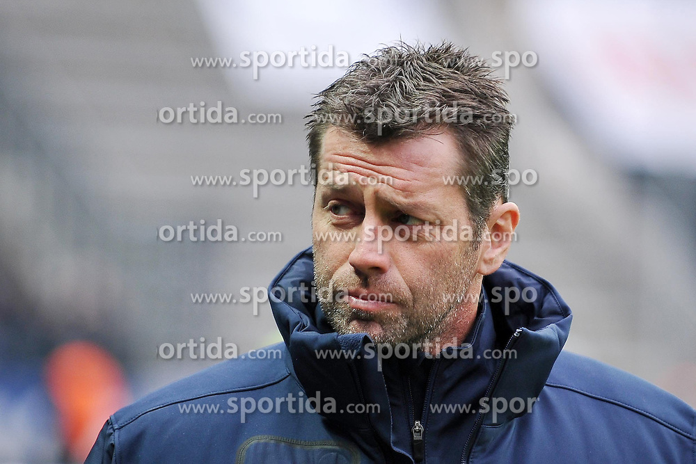 "28.01.2012, Olympiastadion, Berlin, GER, 1. FBL, Hertha BSC Berlin vs Hamburger SV, 19. Spieltag, im Bild Trainer Michael Skibbe (Hertha BSC) // during the football match of the german ""Bundesliga"", 19th round, between Hertha BSC Berlin and Hamburger SV, at the Olympia Stadium, Berlin, Germany on 2012/01/28. EXPA Pictures © 2012, PhotoCredit: EXPA/ Eibner/ Burghard Schreyer..***** ATTENTION - OUT OF GER *****"