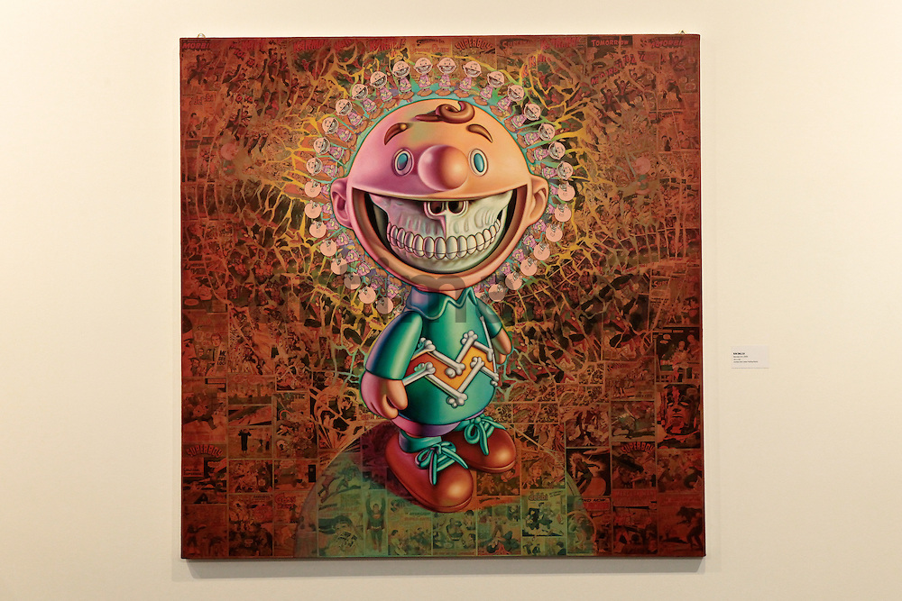 Ron English , Mandala Grin , 2009