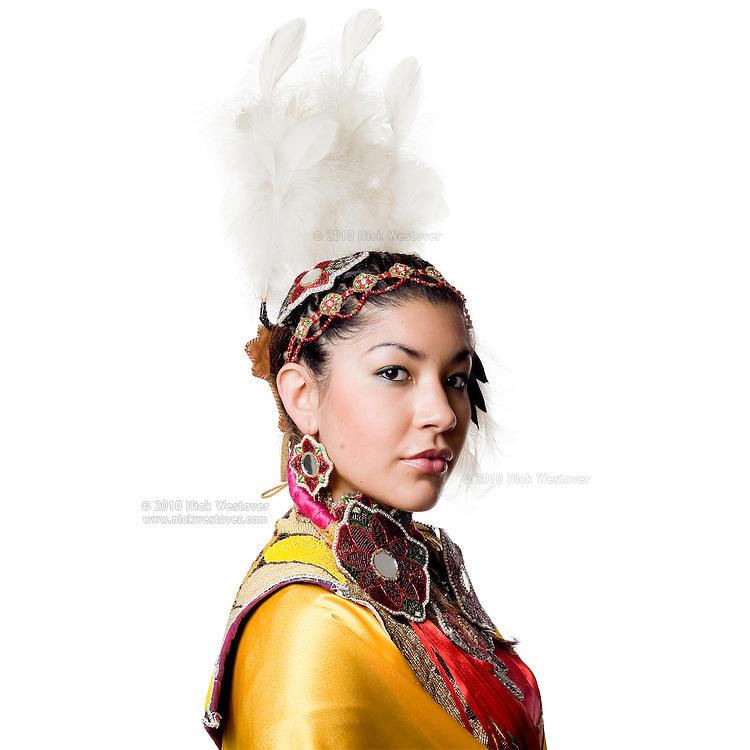 Portrait of Vancouver dancer Shyama Priya.