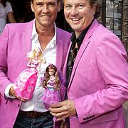 NLD/Amsterdam/20120909- Filmpremiere Barbie, Carlo Rijsdijk en Leo Langstraat