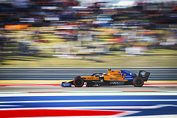 November 2, 2019, Austin, United States of America: Motorsports: FIA Formula One World Championship 2019, Grand Prix of United States, .#4 Lando Norris (GBR, McLaren F1 Team) (Credit Image: © Hoch Zwei via ZUMA Wire)