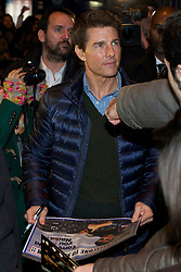 Tom Cruise during the Premiere of the movie 'Jack Reacher', Callao Cinema. Madrid. Spain, December 13, 2012. Photo by JESUS M. IZQUIERDO / DYD PPA / i-Images...SPAIN OUT