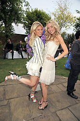 Left to right, HOFIT GOLAN and NOELLE RENO at The Ralph Lauren Sony Ericsson WTA Tour Pre-Wimbledon Party hosted by Richard Branson at The Roof Gardens on June 18, 2009