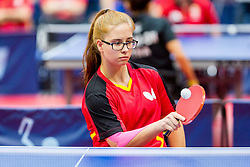 MIKOLASCHEK Sandra in action during 15th Slovenia Open - Thermana Lasko 2018 Table Tennis for the Disabled, on May 10, 2018 in Dvorana Tri Lilije, Lasko, Slovenia. Photo by Ziga Zupan / Sportida