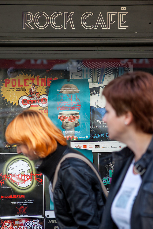 Das Rock Cafe in der Narodni Strasse.