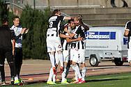 10.9.2016, Paavo Nurmen stadion, Turku.<br /> Ykkönen 2016.<br /> Turun Palloseura - Kokkolan Pallo-Veikot.<br /> Juri Kinnunen, Sami Rähmönen & Waltteri Peltola (TPS) juhlivat tasoitusmaalia.