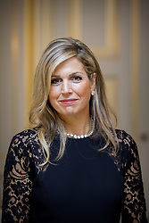 Queen Maxima of The Netherlands attends a dinner offered to the Secretary-General of the United Nations Antonio Guterres at Noordeinde Palace in The Hague, Netherlands, on Thursday December 21, 2017. Earlier in the day, Prime Minister Rutte offered Mr Guterres a lunch on behalf of the government at the Ministry of General Affairs. Guterres visits the Netherlands on Thursday 21 and Friday December 22. The occasion for his two-day visit is the closing ceremony of the International Criminal Tribunal for the former Yugoslavia (ICTY, The International Criminal Tribunal for the Yugoslavia). Photo by Robin Utrecht/ABACAPRESS.COM