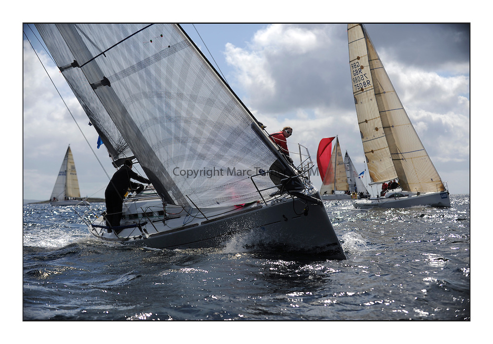 Brewin Dolphin Scottish Series 2011, Tarbert Loch Fyne - Yachting..FRA37296, Salamander Team Sunbird, Chris Dodgshon, Fairlie YC  .