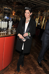 ELIZABETH SALTZMAN at the 50th birthday party for Patrick Cox held at the Café Royal Hotel, 68 Regent Street, London on 15th March 2013.
