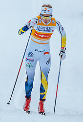 27.11.2016, Nordic Arena, Ruka, FIN, FIS Weltcup Langlauf, Nordic Opening, Kuusamo, Damen, im Bild Stina Nilsson (SWE) // Stina Nilsson of Sweden during the Ladies FIS Cross Country World Cup of the Nordic Opening at the Nordic Arena in Ruka, Finland on 2016/11/27. EXPA Pictures © 2016, PhotoCredit: EXPA/ JFK