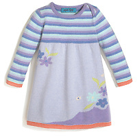 eye spy baby sweater dress