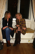 JENNIE DEARDON AND TRUDIE STYLER. The 10th Anniversary Human Rights Watch International Film Festival Benefit Gala  reception at Dartmouth House. 15 March 2006.  ONE TIME USE ONLY - DO NOT ARCHIVE  © Copyright Photograph by Dafydd Jones 66 Stockwell Park Rd. London SW9 0DA Tel 020 7733 0108 www.dafjones.com
