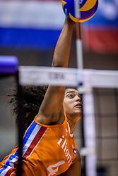 24-08-2017 NED: World Qualifications Netherlands - Czech Republic, Rotterdam<br /> Celeste Plak #4 of Netherlands