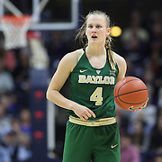 STORRS, CONNECTICUT- NOVEMBER 17: Kristy Wallace #4 of the Baylor Bears in action during the UConn Huskies Vs Baylor Bears NCAA Women's Basketball game at Gampel Pavilion, on November 17th, 2016 in Storrs, Connecticut. (Photo by Tim Clayton/Corbis via Getty Images)