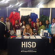HISD participates in the 30th annual Houston Hispanic Forum Career and Education Day.