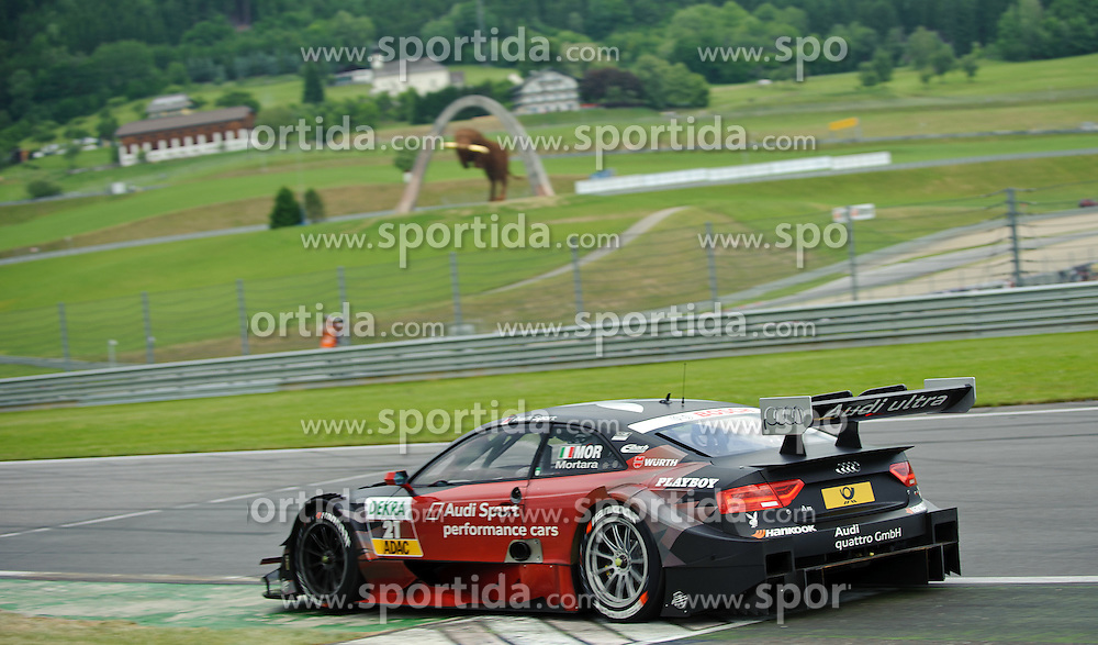 03.06.2012, Red Bull Ring, Spielberg, AUT, DTM Red Bull Ring, Renntag, im Bild Edoardo Mortara, (ITA, Team Rosberg, 1. Platz) // during the DTM training day on the Red Bull Circuit in Spielberg, 2012/06/03, EXPA Pictures © 2012, PhotoCredit: EXPA/ S. Zangrando