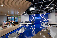 Interior design image of Hughes Cafe and Conference Center in Gaithersburg MD by Jeffrey Sauers of Commercial Photographics