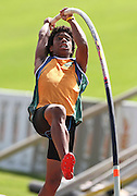GERMISTON, SOUTH AFRICA, Friday 29 March 2012, Fabio Grunet of Free State in the pole vault during the Yellow Pages South African Junior and Schools Athletic Championships at the Germiston Stadium..Photo by Roger Sedres/Image SA