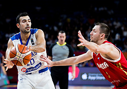 Kostas Sloukas of Greece during basketball match between National Teams of Greece and Russia at Day 14 in Round of 16 of the FIBA EuroBasket 2017 at Sinan Erdem Dome in Istanbul, Turkey on September 13, 2017. Photo by Vid Ponikvar / Sportida
