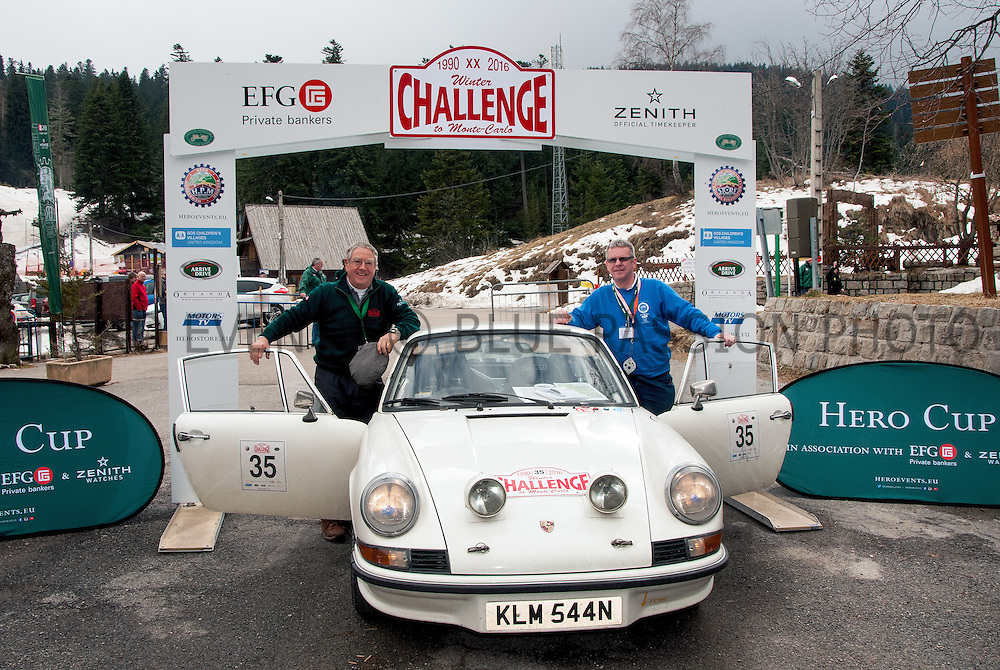 "Photos of Winter Challenge rally from London to Montecarlo 2016 (21-25/02/2016). All rights reserved. Editorial use only for press kit about Rally of the Test 2015. Any further use is forbidden without previous Author's consent. Author's credit ""©Photo F&R Rastrelli"" is mandatory"