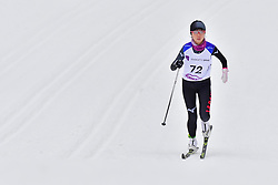 IWAMOTO Mika, JPN, LW8 at the 2018 ParaNordic World Cup Vuokatti in Finland
