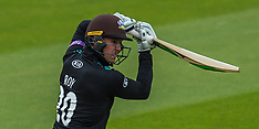 12 May 2017 - Surrey v Kent - Royal London One-Day Cup at the Oval.