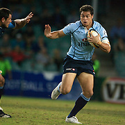Timana Tahu in action during the Super 14 match between the Waratahs and the Bulls at the Sydney Football Stadium, Sydney, Australia on April 11, 2009.  Photo Tim Clayton