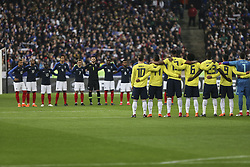 March 23, 2018 - Saint-Denis, Ile-de-France, France - during the friendly football match between France and Colombia at the Stade de France, in Saint-Denis, on the outskirts of Paris, on March 23, 2018. (Credit Image: © Elyxandro Cegarra/NurPhoto via ZUMA Press)