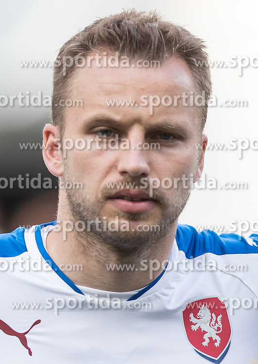 01.06.2016, Tivoli Stadion, Innsbruck, AUT, Testspiel, Tschechien vs Russland, im Bild Michal Kadlec (CZE) // Michal Kadlec (CZE) during the International Friendly Match between Czech Republic and Russia at the Tivoli Stadion in Innsbruck, Austria on 2016/06/01. EXPA Pictures © 2016, PhotoCredit: EXPA/ Johann Groder