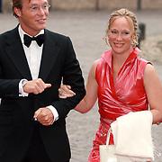 NLD/Apeldoorn/20070901 - Viering 40ste verjaardag Prins Willem Alexander, aankomst Jaime, Margarita