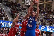 DESCRIZIONE : Trento Nazionale Italia Uomini Trentino Basket Cup Italia Austria Italy Austria<br /> GIOCATORE : Marco Cusin<br /> CATEGORIA : Italia Nazionale Uomini Italy<br /> GARA : Trento Nazionale Italia Uomini Trentino Basket Cup Italia Austria Italy Austria<br /> DATA : 31/07/2015 <br /> AUTORE : Agenzia Ciamillo-Castoria