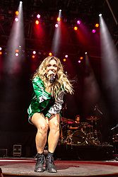June 30, 2018 - Milwaukee, Wisconsin, U.S - RACHEL PLATTEN performs live at Henry Maier Festival Park during Summerfest in Milwaukee, Wisconsin (Credit Image: © Daniel DeSlover via ZUMA Wire)