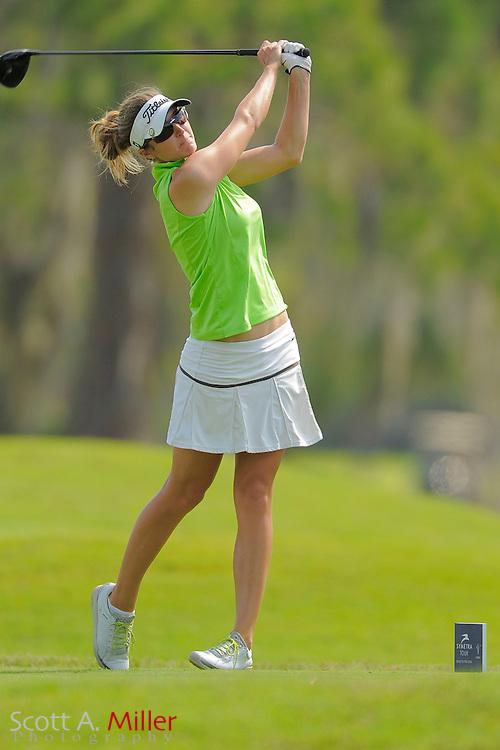 Therese Koelbaek during second round of the Symetra Tour's Guardian Retirement Championship at Sara Bay in Sarasota, Florida April 27, 2013. ..©2013 Scott A. Miller