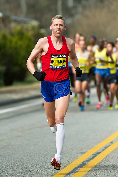 2013 Boston Marathon: Jason Hartmann, USA