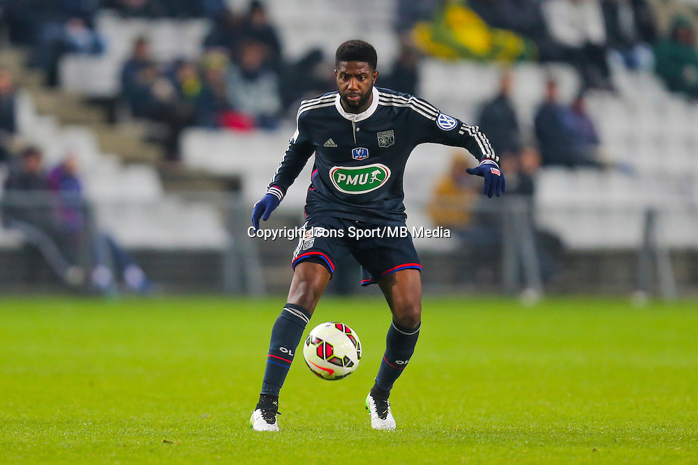 Arnold MVUEMBA  - 20.01.2015 - Nantes / Lyon  - Coupe de France 2014/2015<br /> Photo : Vincent Michel / Icon Sport