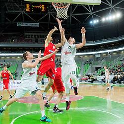 20141203: SLO, Basketball - EuroCup 2014/15, KK Union Olimpija Ljubljana vs Szolnoki Olaj KK